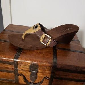 Leather Nine West